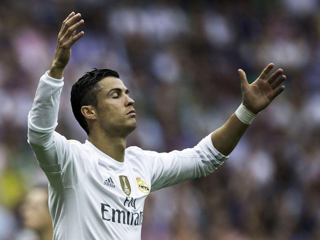 NULL UTTELLING: Cristiano Ronaldo og Real Madrid mislyktes med å skyte hull på Málaga på hjemmebane lørdag.