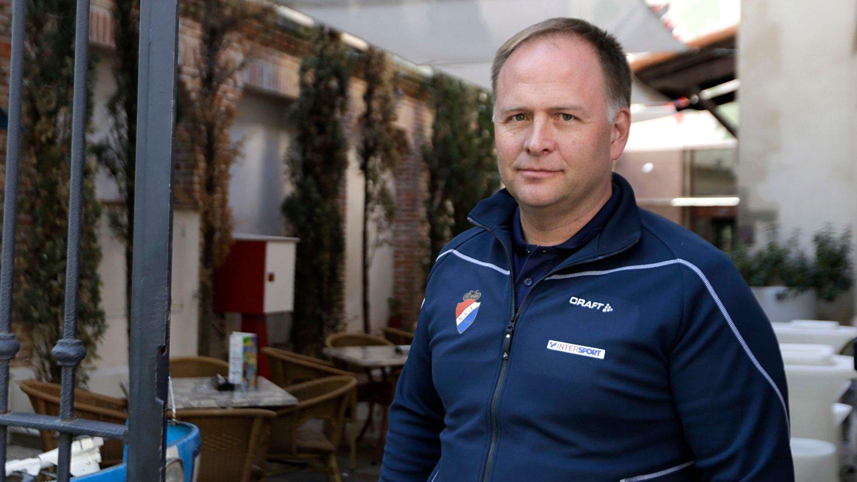 TRENER: Stein Ørn går inn på Katjusja-laget.