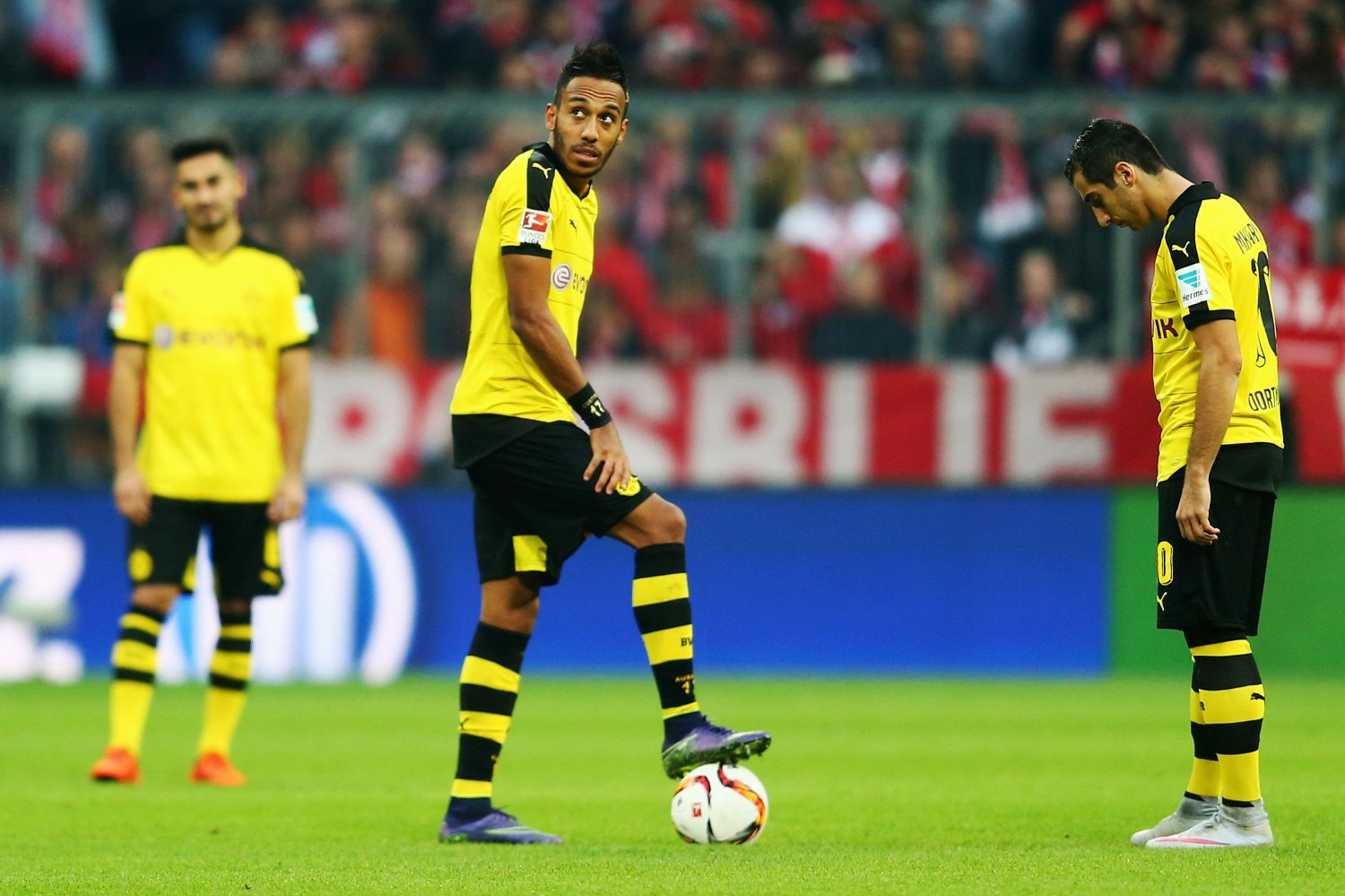 TO ASSISTS: Pierre-Emerick Aubameyang spilte en stor kamp.