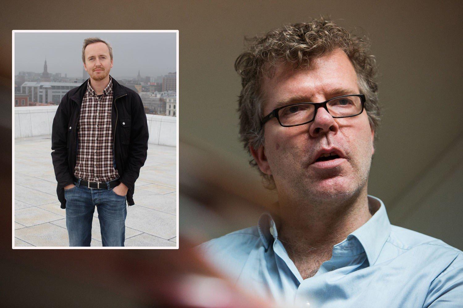 SLÅR TILBAKE: Leder ved Antirasistisk Senter Rune Berglund Steen mener samfunnsdebattant Jon Hustad skaper splid når han generaliserer om negative konsekvenser av at flyktninger med muslimsk bakgrunn kommer til Norge.