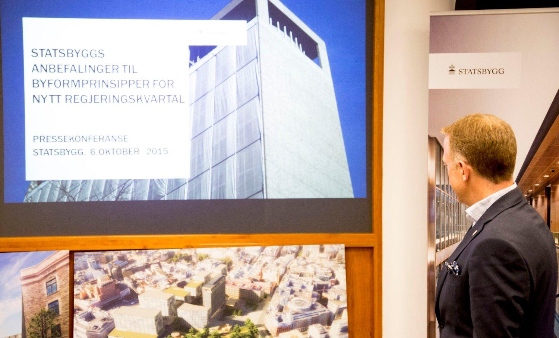 Oslo KrF Vil endre premisset om å samle alle departementene, et premiss som ligger i bunnen av anbefalingene Statsbygg- sjef Harald Nikolaisen presenterte for to uker siden.