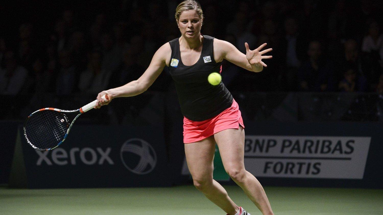 Øivind Sørvald i Norges Tennisforbund er en av verdens beste i videoanalyse og har jobbet tett med flere av de største tennisstjernene. Erfaringen bruker idrettssjefen til å gi sporten et løft i Norge. Her er tidligere tennisstjerne Kim Clijsters.