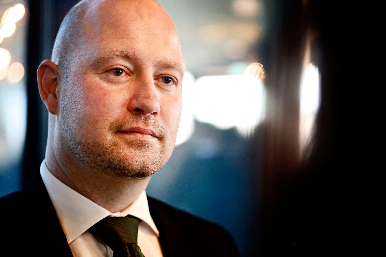 Justisminister Anders Anundsen
