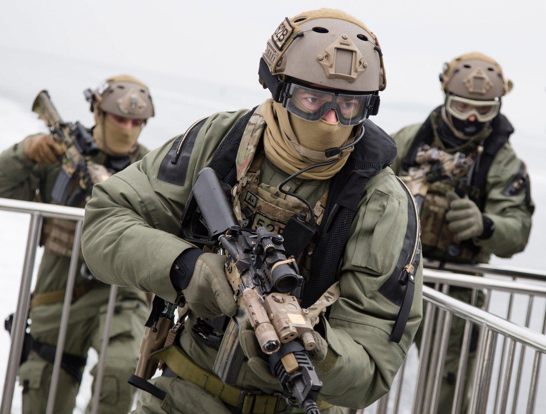 KLARE FOR IRAK: Norske soldater kan kompromitteres hvis Irak får identiteten deres.