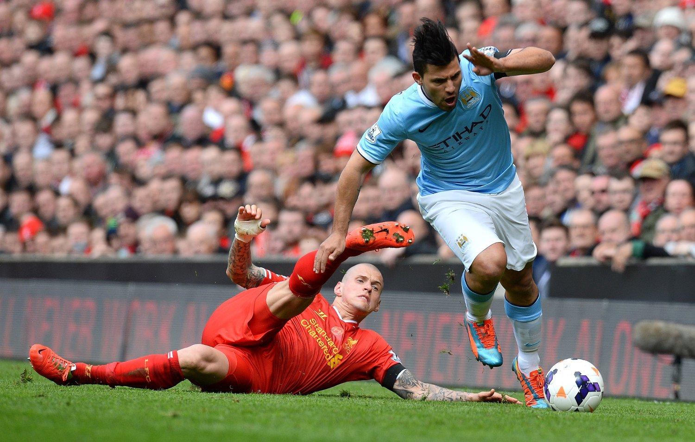 SNART TILBAKE: Manchester City-spiss Sergio Agüero.
