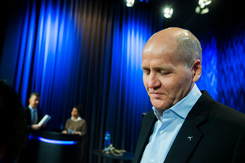 SETTERE LEDER PÅ GANGEN: Konsernsjef Sigve Brekke i Telenor.