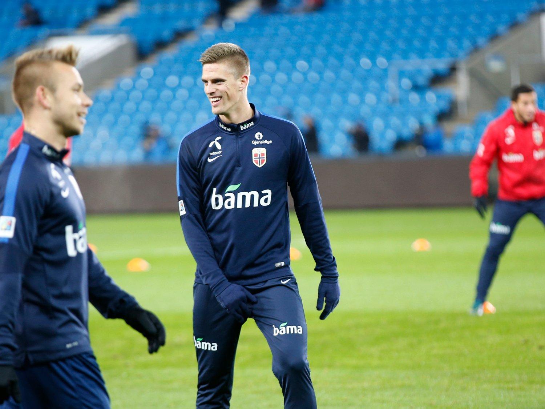 - SPILTE KJEMPEKAMP: Markus Henriksen husker med glede tilbake på landslagets forrige møte med Ungarn. Den gangen fungerte det meste som det skulle for Norge.