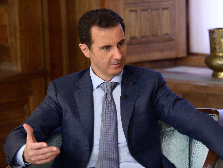 Syrias president Bashar al-Assad.