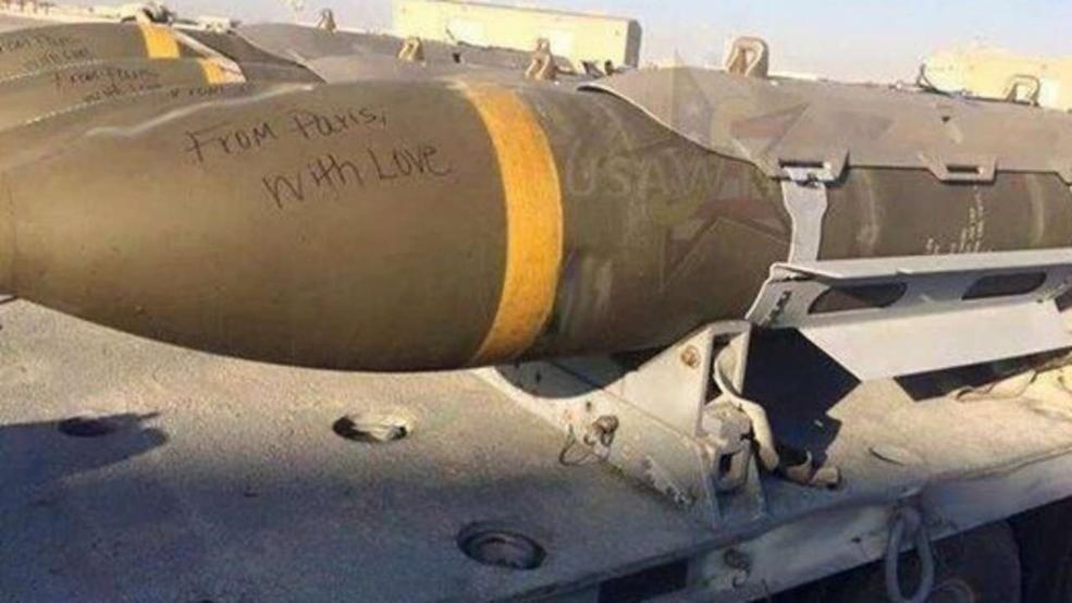 Hilsen fra amerikanske styrker til IS: