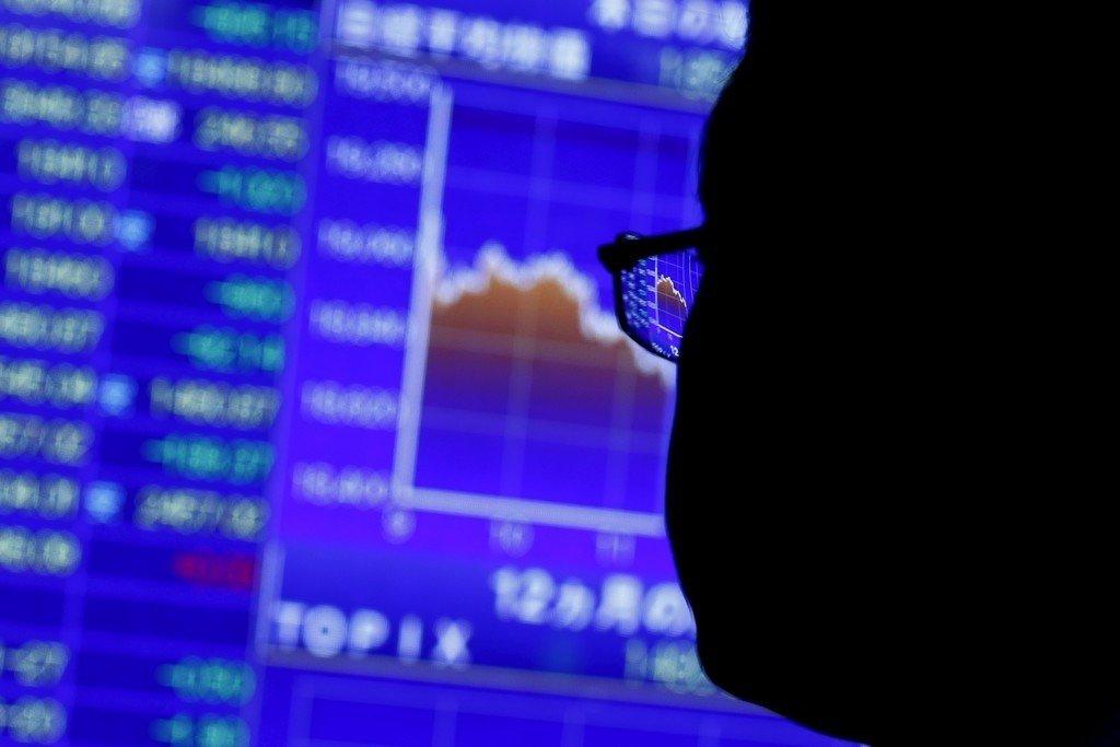 Japans økonomi krympet i tredje kvartal. Det er den andre tremånedersperioden på rad med nedgang, noe som ofte regnes som en teknisk resesjon.REUTERS/Thomas Peter