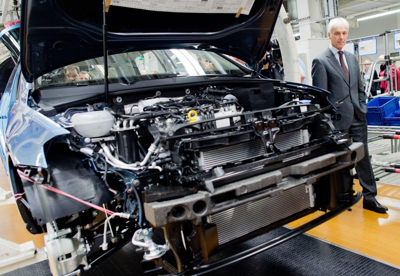 VWs nye sjef Matthias Müller lovet at konsernet ville påta seg enhver CO2-regning som måtte dukke opp.