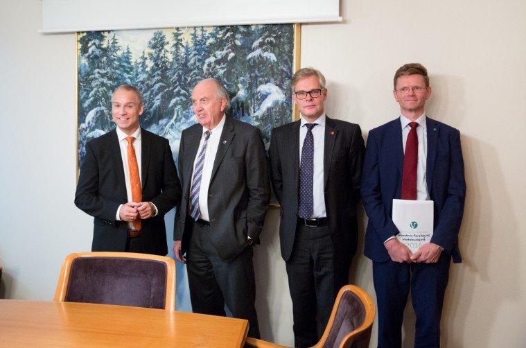 KrF, Høyre, Frp og Venstre er nær en løsning på neste års budsjett.
