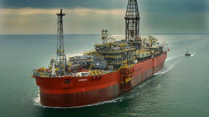 Azurite at Sea. BW Offshore sitt skip