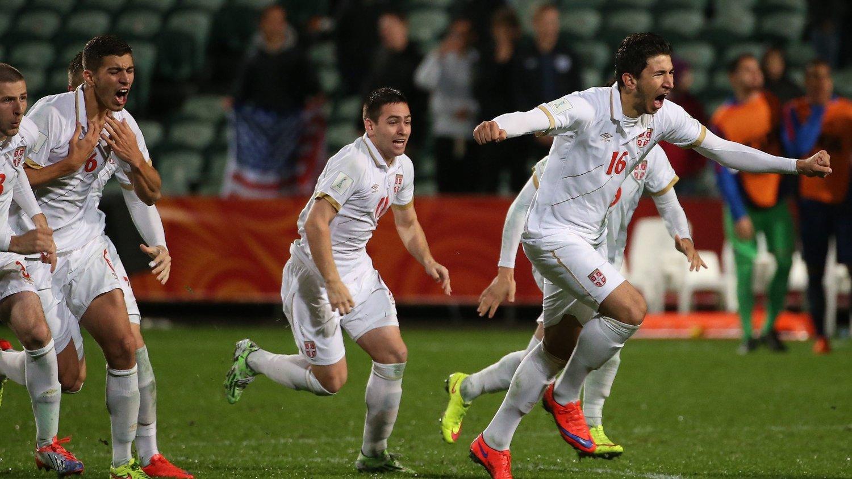 MIDTBANESJEF: Marko Grujic (til høyre) skal være veldig nær en overgang til Liverpool.