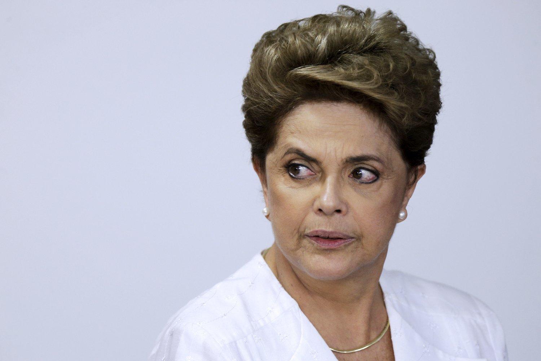 ALVORLIGE ANKLAGER: Brasils president Dilma Rousseff anklages for å ha pyntet på tallene i statsbudsjettet for å skjule regnskapshull i et valgår, men avviser påstandene.