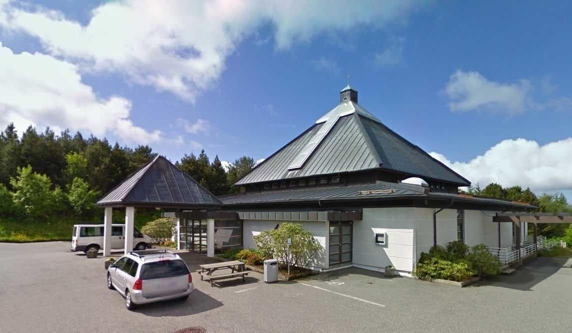 OLSVIK KIRKE: Dette er en kirke, en Poké-stopp og en gym.