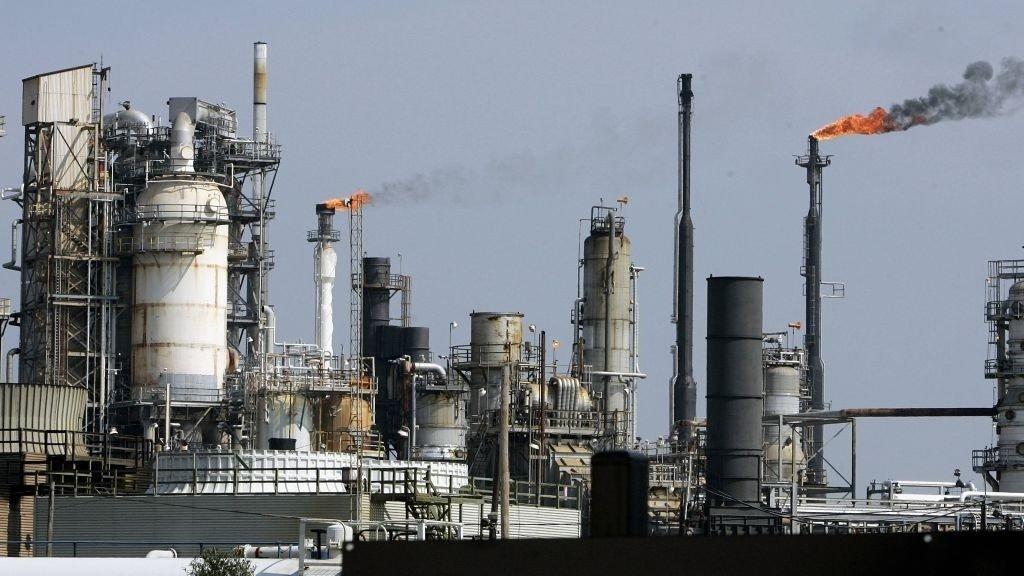De amerikanske oljelagrene krympet i forrige uke.