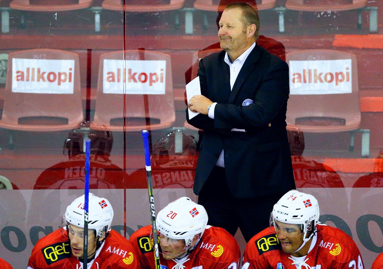 ARVTAGER: Landslagstrener Petter Thoresen prøver denne uka å lede ishockeylandslaget til et tredje strake OL. Forgjenger Roy Johansen tok Norge til vinterlekene både i Vancouver og i Sotsji.