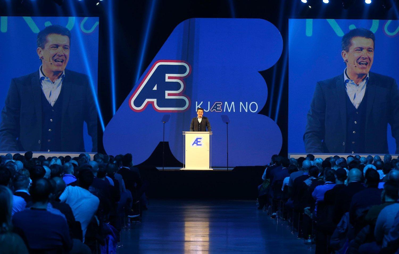 BLIR GRANSKET. Remas Æ, som Rema-sjef Ole Robert Reitan presenterte onsdag, blir gransket av Datatilsynet.