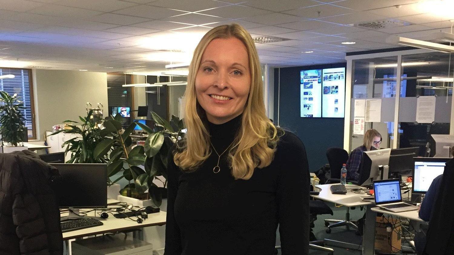 6b22089c Spray-direktør Sara Narvhus Oksdøl sier at netthandelen via Nettavisen ble  doblet i 2016,