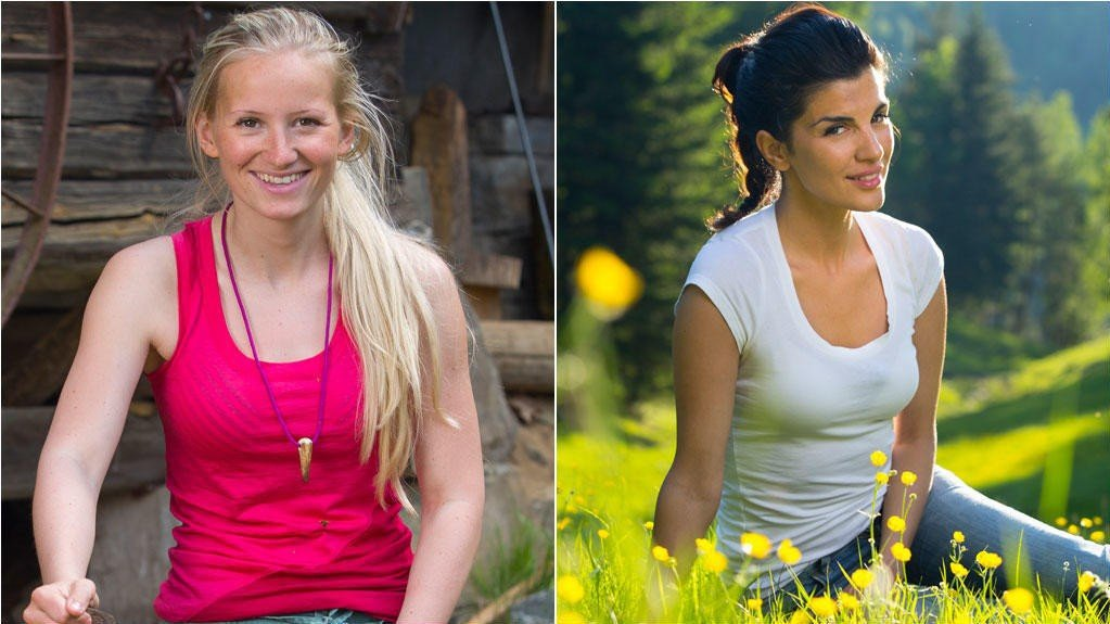 Tonje Helene Blomseth og Aylar Lie forlot Farmen etter bare en uke.