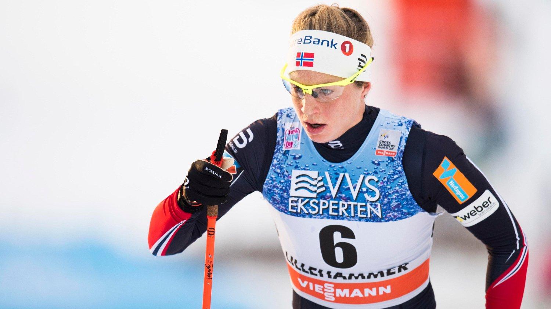 PÅ ANTIBIOTIKA: Astrid Uhrenholdy Jacobsen er sykemeldt.