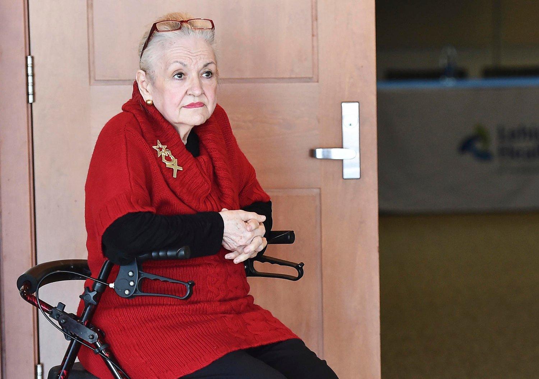 8f58df17 TRENGER HJELP: Mary Clancey trenger ennå litt ekstra støtte for å klare å holde  balansen