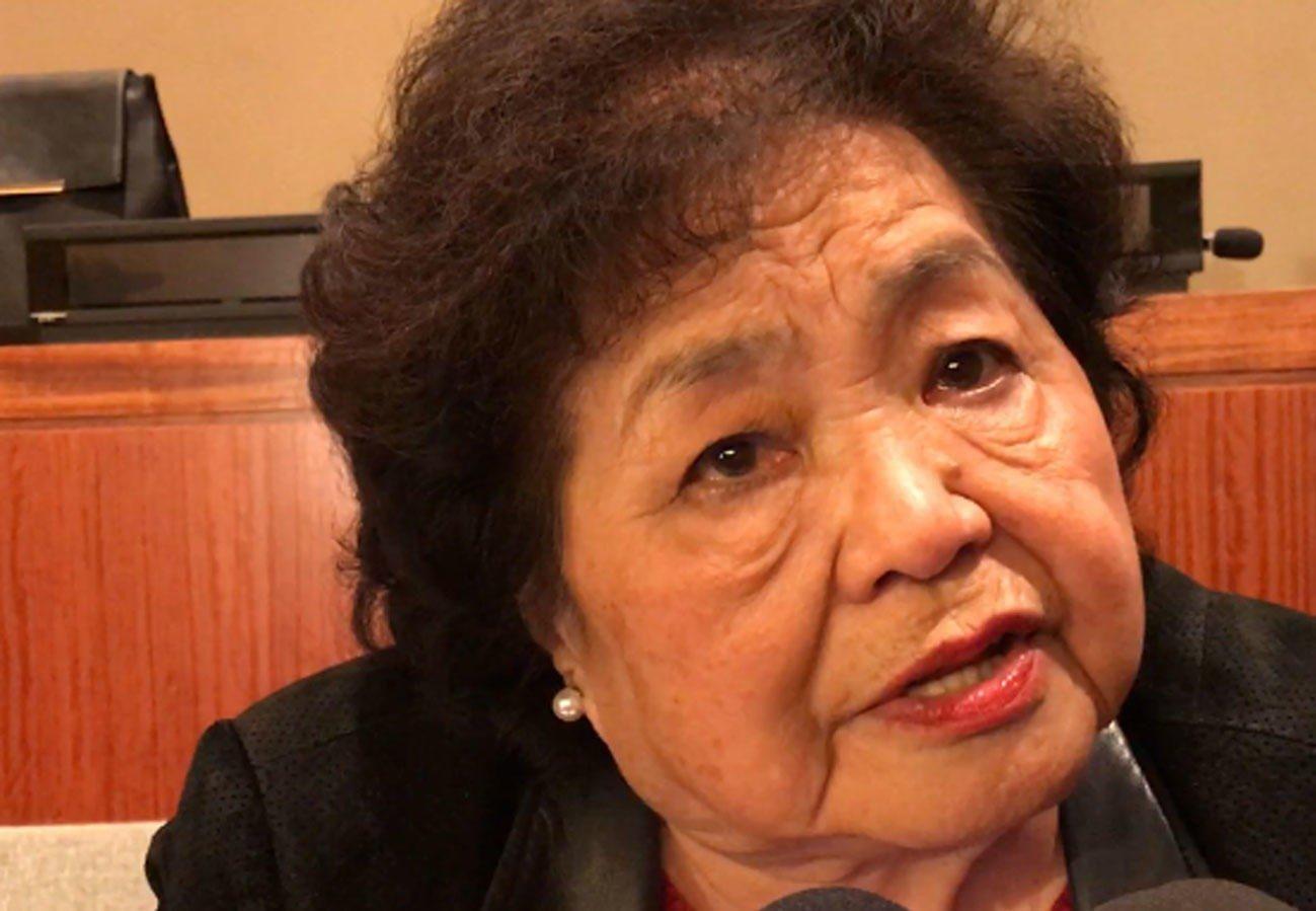 OVERLEVDE: Setsuko Thurlow var 13 år gammel da USA slapp en atombombe over hennes hjemby Hiroshima. Rundt 140.000 mennesker døde.
