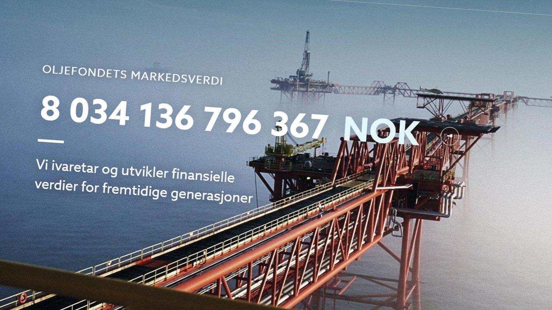 Oljefondet Har Passert Magisk Grense Fordi Det Gar Darlig Med Norge