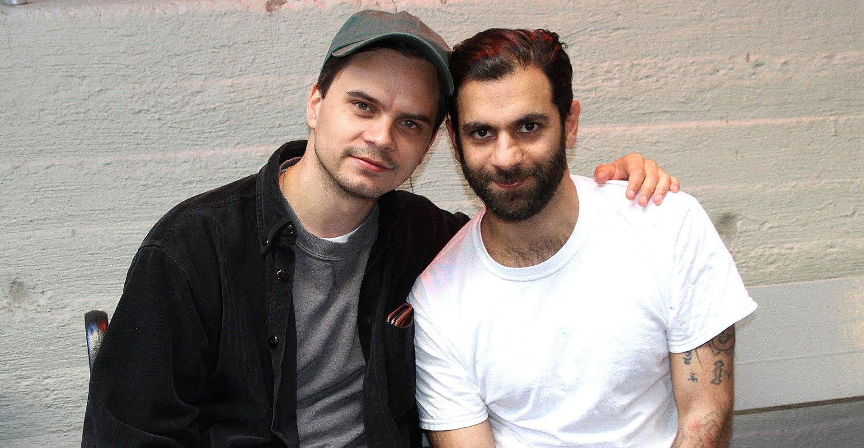 Kristoffer Borgli og Amir Asgharnejad er aktuelle med filmen DRIB.