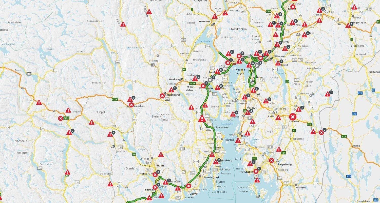 statens vegvesen kart