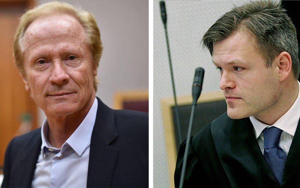 Advokat Per Danielsen (t. v.) vant på nytt i saken som den avskiltede advokaten Marius Reikerås. Han har tidligere representert nordsjødykkerne i deres sak mot staten.