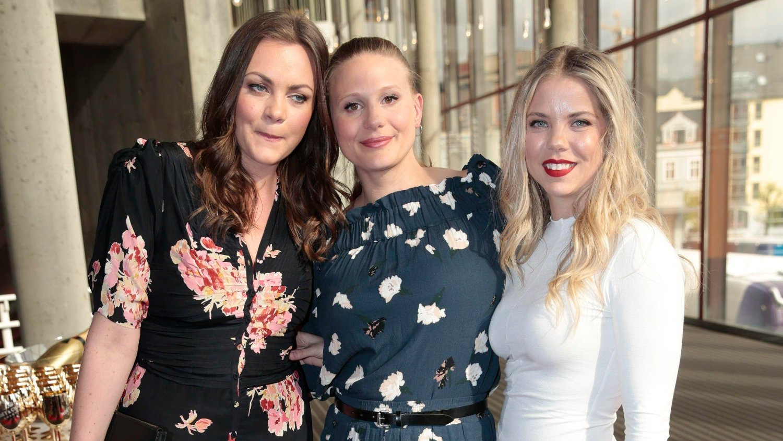 STJERNER: Siri Seljeseth, Gine Cornelia Pedersen og Alexandra Gjerpen spiller hovedrollene i «Unge Lovende».