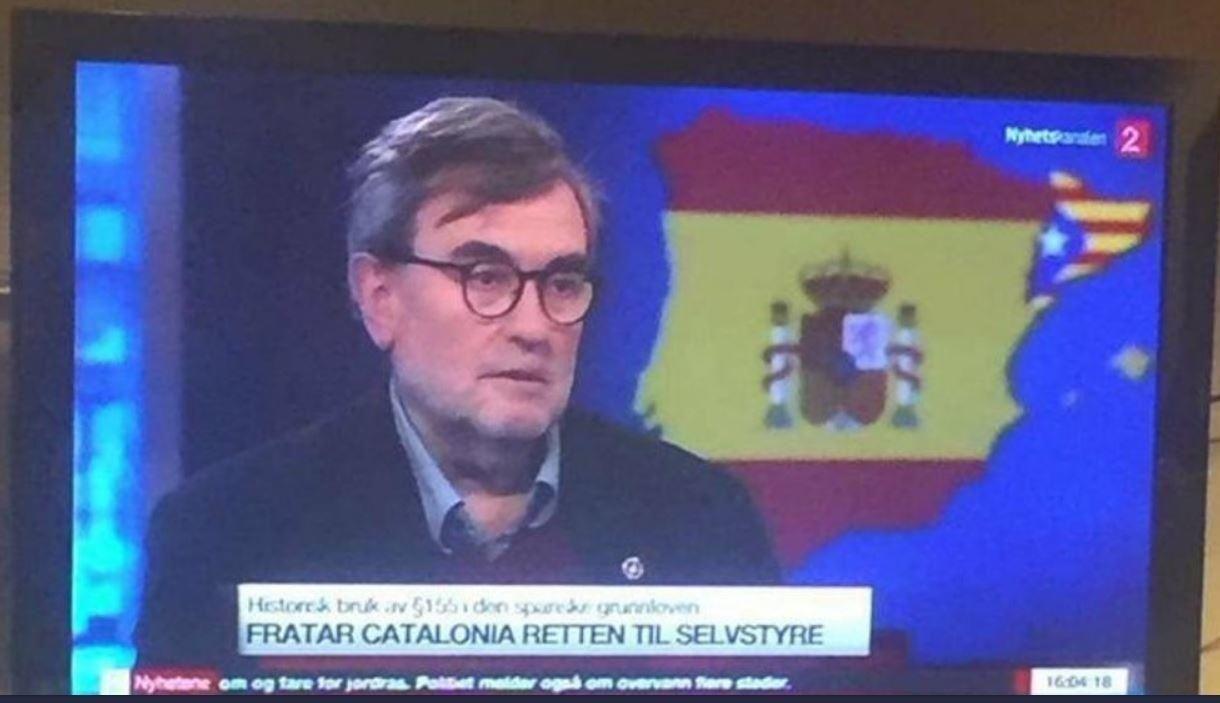 Tv 2s Kartblemme Vekker Oppsikt I Portugal Og Spania