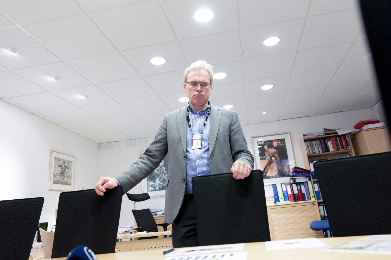 FÅR STADIG MER Å GJØRE: Namsfogd Alexander Dey i Namsfogden i Oslo er bekymret over utviklingen.