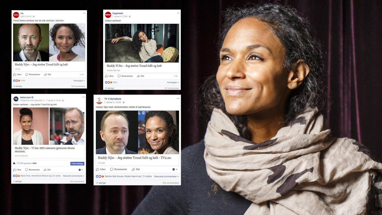 f48ca901 FÅR STØTTE PÅ SOSIALE MEDIER: Både VG, TV 2, Dagbladet og Nettavisen har
