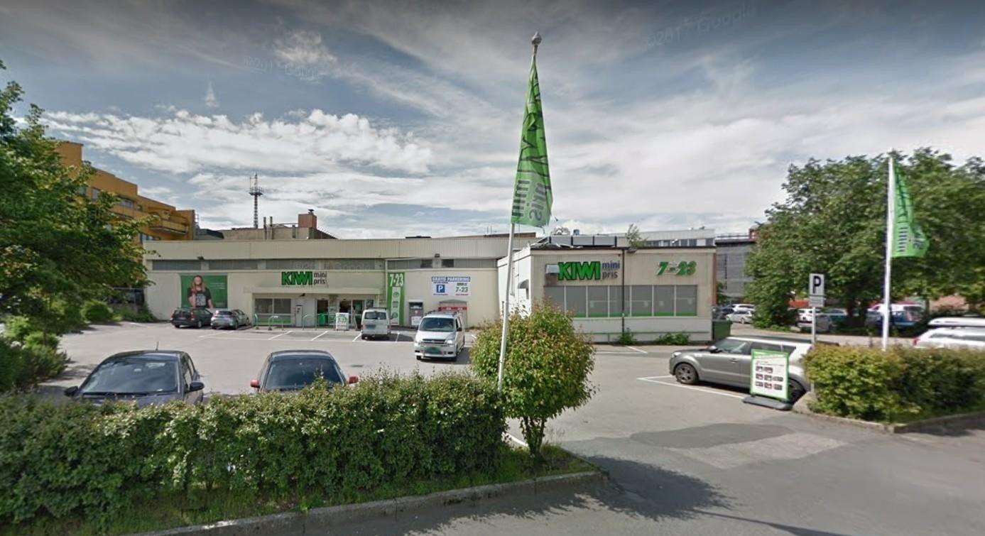 Kiwi-butikken i Gudes gate 12 i Moss er en av 22 Kiiwi-butikker Robert Burud og Jan Lyder Isaksen driver via selskapet Oslofjordmat AS.