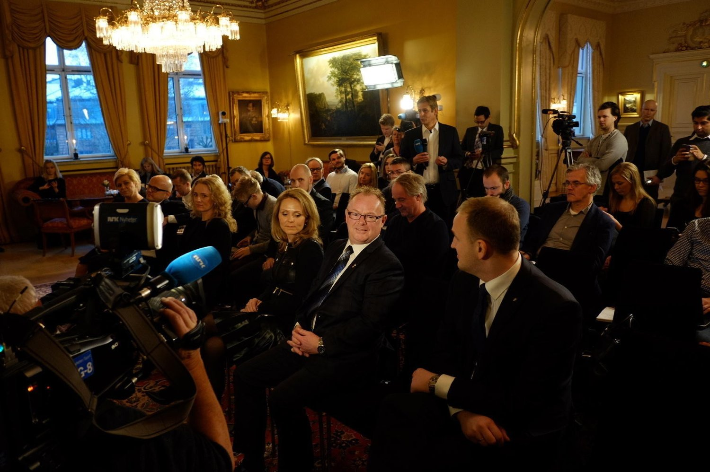 NY POST: Per Sandberg i desember 2015, da han ble utnevnt til fiskeriminister. Nå fungerer han som justis-, beredskaps- og innvandringsminister etter at Sylvi Listhaug trakk seg.
