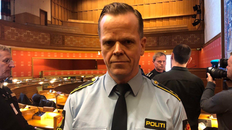 ULOGISK: Politioverbetjent Inge Brekke ved Oslo politidistrikt kaller Oslo-byrådets nye kjøremønster for ulogisk.