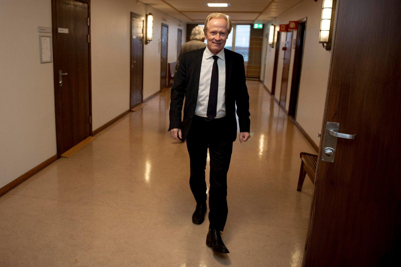 GIKK TIL SAK MOT TIDLIGERE KLIENT: Advokat Per Danielsen gikk til sak mot en tidligere klient.
