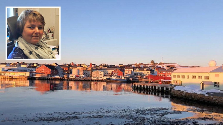 BEKYMRET NAV-SJEF: - Vi må se på det som skjer, vi har jo en regionalisering hvor Troms og Finnmark skal slå sammen. Det skaper usikkerhet, folk vegrer seg for å etablere seg her fordi de ikke vet hvordan fremtiden vil bli. Er vi i ferd med å bli avfolket? Vil det være jobb her om 15 år, undrer Nav-sjefen i Vardø, Bitte Isaksen.
