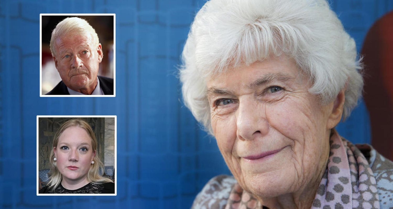 KREVER STANS: Bystyrepolitikerne Carl I. Hagen og Aina Stenersen krever stans i flyttingen av hele Norges tv-kokk, Ingrid Espelid Hovig (93), som skal tvangsflyttes fra sykehjemmet der hun bor i Oslo.