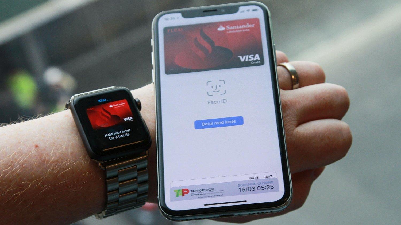 2b1899b0 Apple Pay er en betalingstjeneste som egentlig fungerer aller best med  Apple Watch - men som