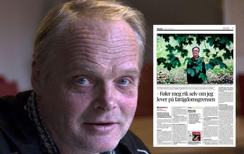 Medieansvarlig Sverre Rusten i Fattighuset fraråder å romantisere fattigdomsbegrepet.