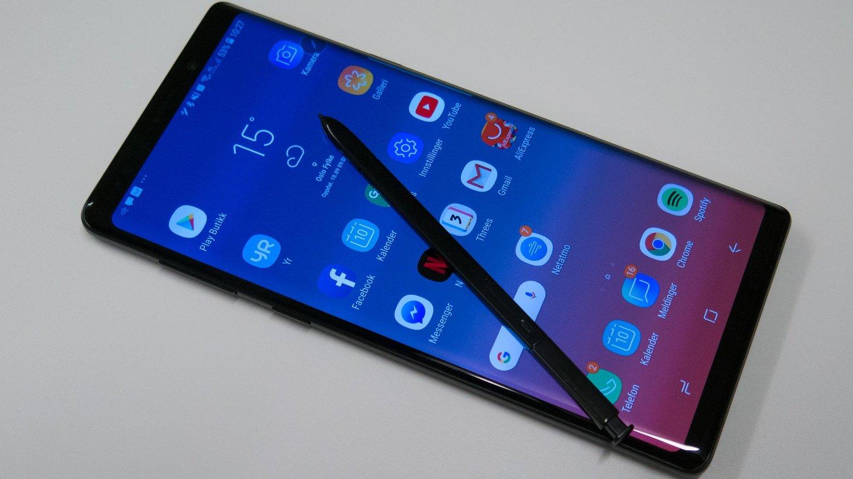 2e5874ac Test: To uker med Samsung Note 9