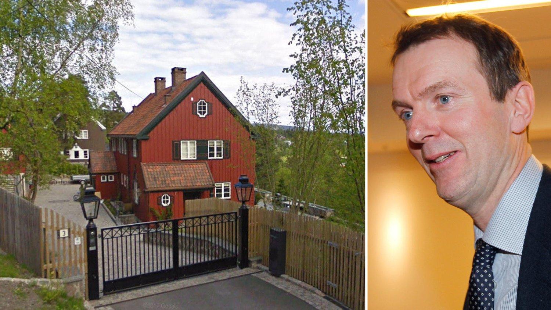 SOLGT: Svein Støle har solgt sin villa i Holmenkollen.