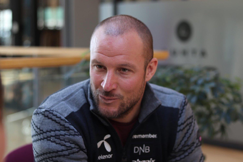 I BEDRE FORM: Aksel Lund Svindal føler seg i bedre fysisk form nå, enn det han gjorde i fjor.