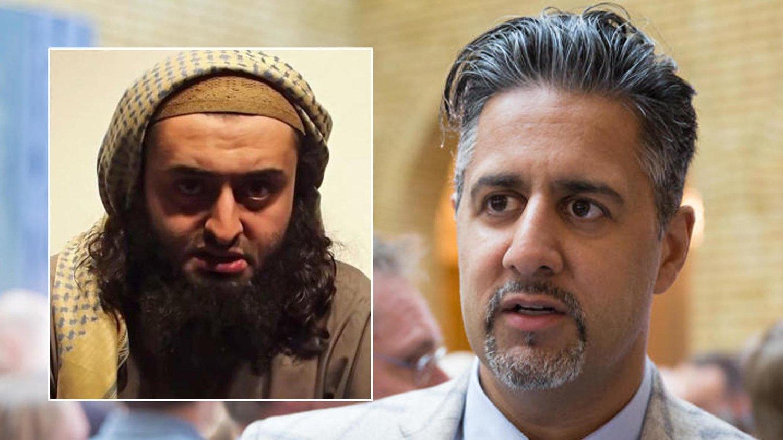 Abid Raja er rasende på den ekstreme islamisten Mohyeldeen Mohammad og mener han er feig som ikke møtte opp til trusselrettssaken.
