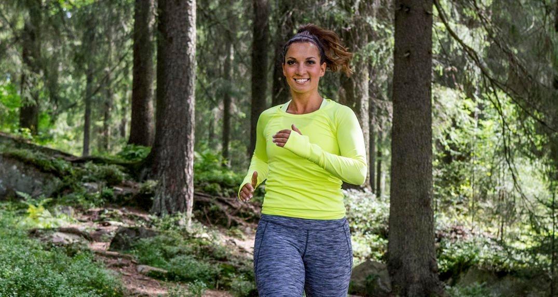 LØPETUR: Ny studie viser klar sammenheng mellom fysisk form og levealder. Dess mer du trener, dess lengre og friskere liv. Dess mindre du trener, dess større sjanse for tidlig død.