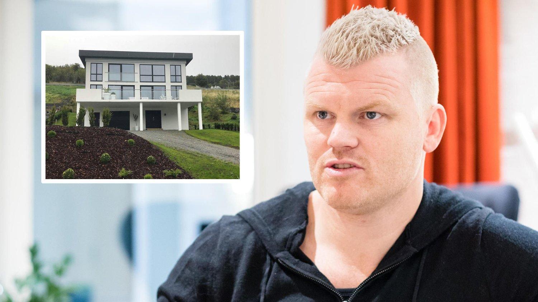 SOLGT: Riise-paret har solgt huset på Hessa i Ålesund.